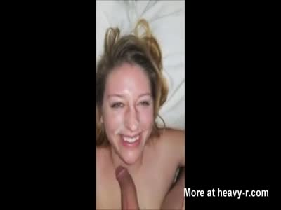 Homemade POV Blowjob