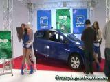 Invisible Guy Fucks Auto Salon Girl