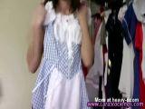 Maid In Stockings Teasing