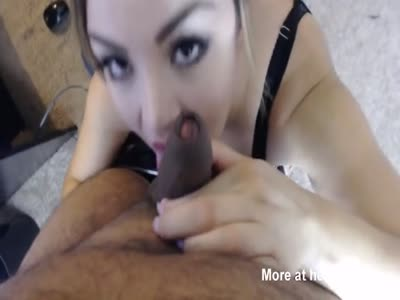 POV Sucking Black Dick