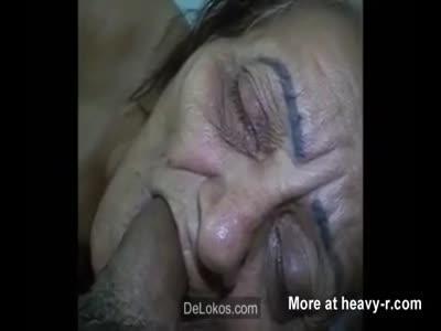 Face Fucking Dead Grandma