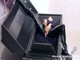 Latex Slut Casket Masturbation
