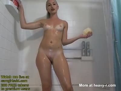 Teen In Shower