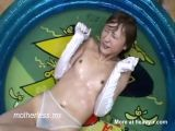 Asian Queen Piss Shower