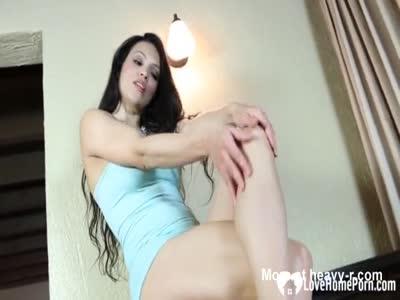 Sensual Worshiping Of Her Feet