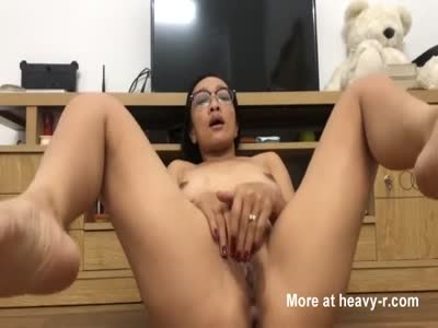 Masturbating Asian MILF