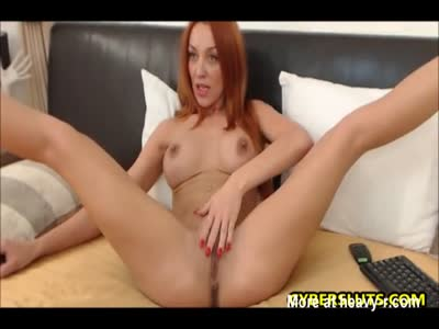 Redhead Babe Knows Some Good Stuff