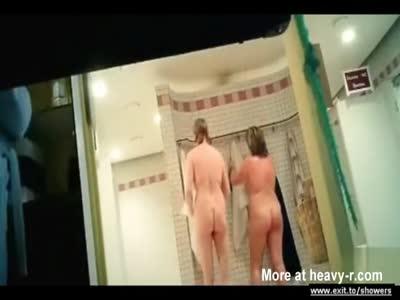 Sexy MILFs In Public Shower
