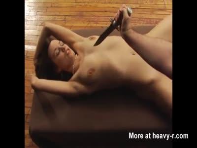 Stabbing Skinny Girl