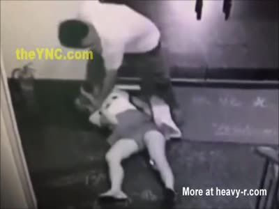Sexual predator try to rape a girl in public place