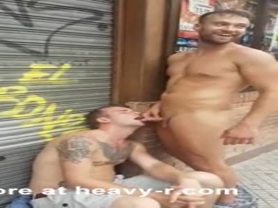 Gay Guy Fooling With Drunks