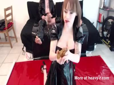 Scat Play In Latex