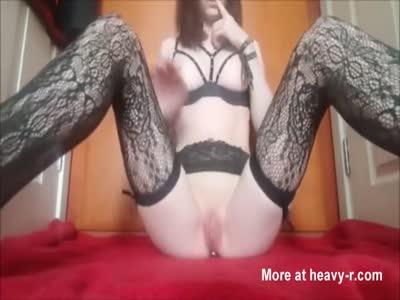 Masturbating With Plug