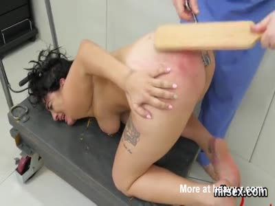 Ass Spanking For Degraded Slut