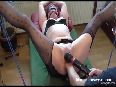 Fisting Tied Wife Till She Starts Squirting