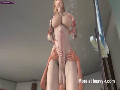 Cartoon shemale Porn video