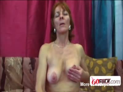 60 year old plus woman gets long dicked