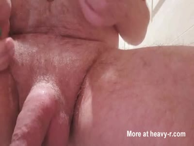 Cock cutting deep into cock head