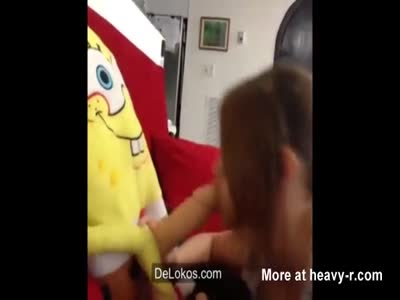 Sponge Bob Gets Blowjob