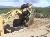 Excavator fail