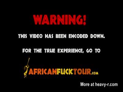 ragazze nere di africani in trio