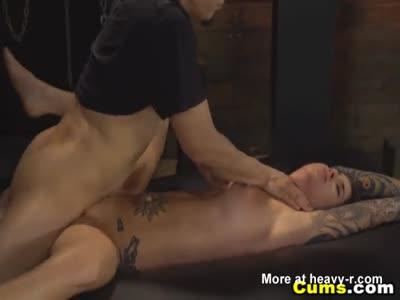 Pounding Her Tattooed Body Hard