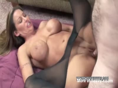 Slut With Scary Tits Gets Fucked