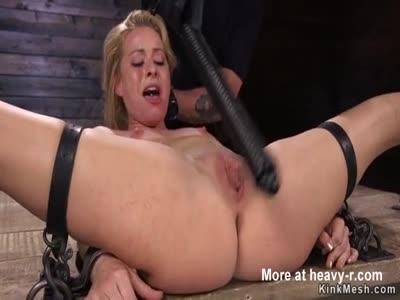 Pussy Beaten In Bondage