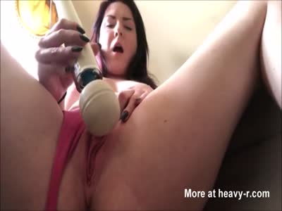 Wife Fucking Pussy With A Hitachi