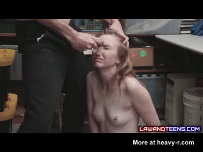 Scared Teen Cries During Rough Sex