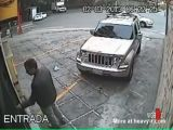 Car Jacker Shot Down