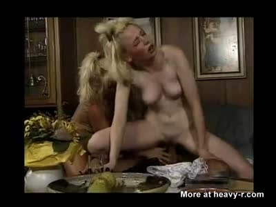 Mother And Daughter Share A Big Dick