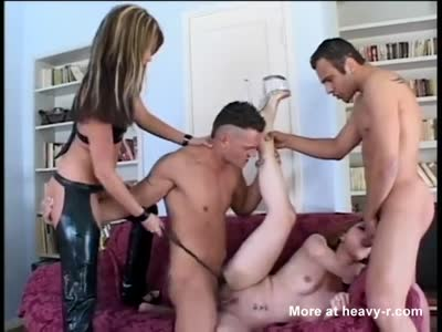 Mistress In Foursome