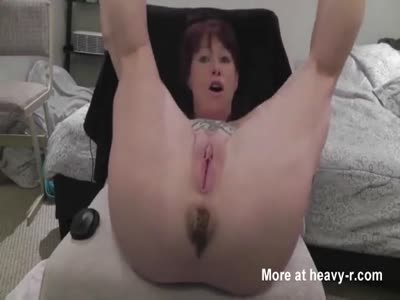 Mature Pooping In POV