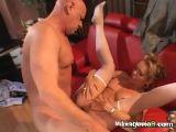 Blonde Cougar In Stockings