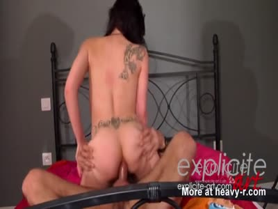 French Porn Slut Does Hairy Guy