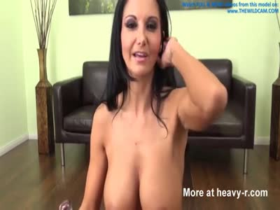 Busty Camgirl Fucks Dick, Toys And Fingers