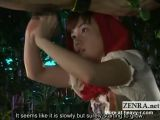 Japanese Red Riding Hood Handjob