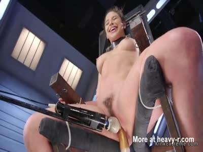 Tied Up To Fucking Machine