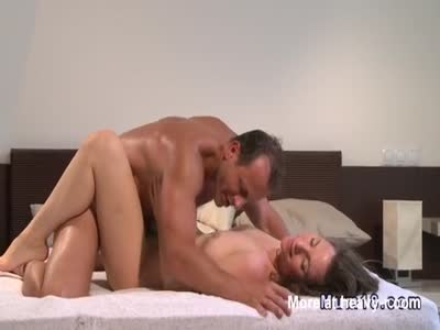 Husband Cumming Twice On Hairy Wife Pussy