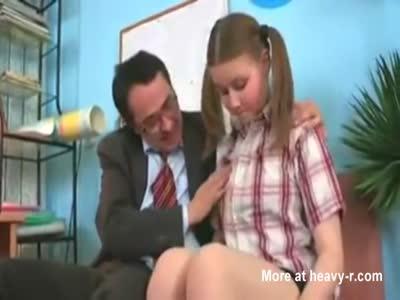 Teacher Fucks Young Chubby Student