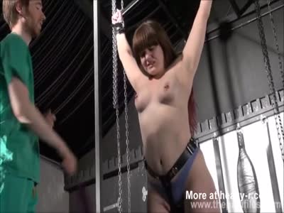 Flogging Small Tits