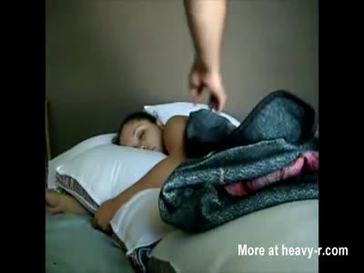 Cum On Sleeping figlia