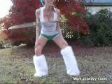 Hot Hula Hoop Girl