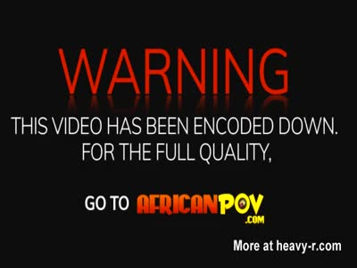 African chick blowing stiff dick