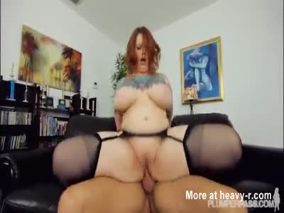 Plump Mature Riding Cock