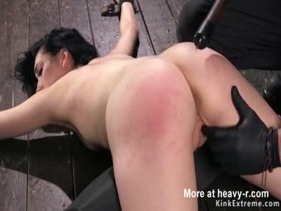 Babe Zappered In Bondage