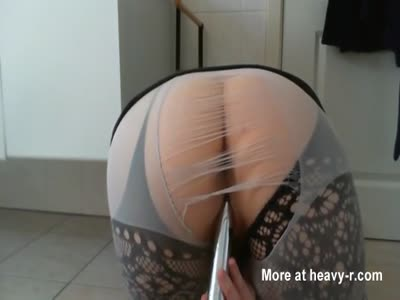 Ass View Masturbation