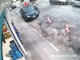 Cold Blooded Murder Caught On CCTV
