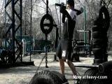 Park gym in Oekraïne